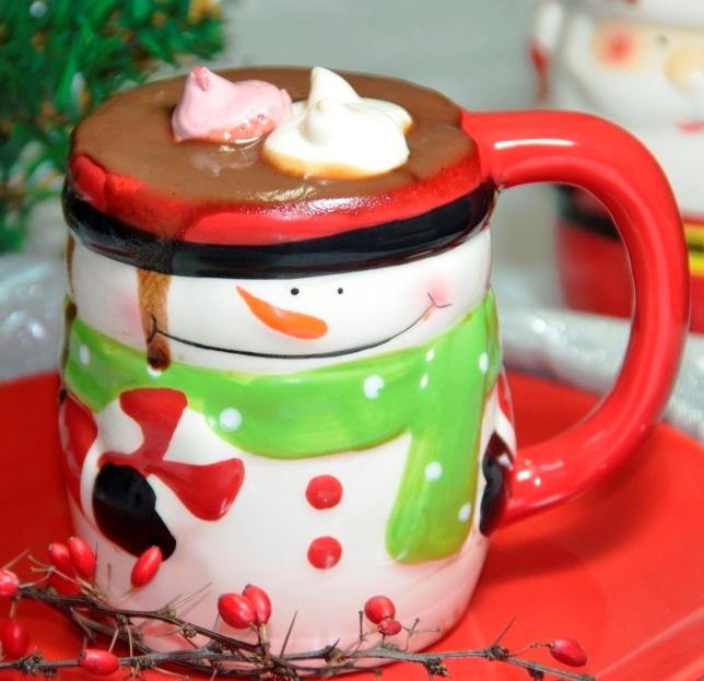 Ciocolată caldă cu bezele moi